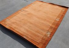 T236 Gorgeous Contemporary Tibetan Woolen Area Rug 5.8' X 7.10' Made in Nepal