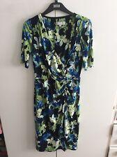 Per  Una Navy Mix Floral Dress - Size 10 - BNWOT