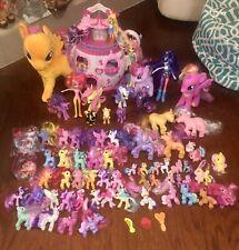 Lot of Hasbro My Little Pony Figures, Playhouse , Plush , Equestrians Huge Lot