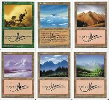 COMPLETE Set of MTG M:tG FIFTH EDITION John Avon - SIGNED ARTIST PROOF S!