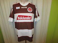 """FC St.Pauli Original reusch Heim Trikot 1995/96 """"Böklunder"""" Gr.XL/XXL TOP"""