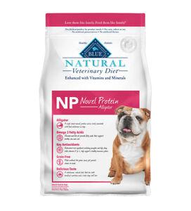 BLUE Natural Veterinary Diet NP Novel Protein Alligator 6 lb. Dog Food