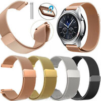Magnetic Milanese Stainless Watch Band Wristband Strap For Garmin Vivoactive 3