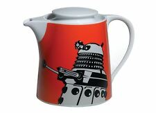Dr Who: Official BBC Orange Retro Dalek Tea Pot - New In Box