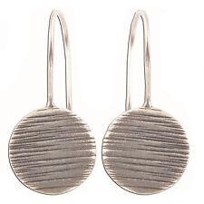 Circle Earrings Pure Silver Karen Hill tribe