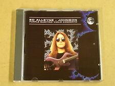 CD / ED ALLEYNE - JOHNSON - PURPLE ELECTRIC VIOLIN CONCERTO