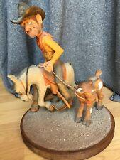 Cleve Taylor Original Art Western Woodcarving Figure