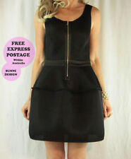 Portmans Little Black Solid Clothing for Women