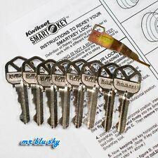 Kwikset Weiser Smart Key Rekey Kit Rekey Tool 8 Keys With Instructions