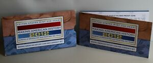 2012 US Making American History Coin and Currency Set Proof ASE and FRN