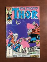 Thor #372 (1986) 7.5 VF Marvel Key Issue Comic Book 1st App Time Variance TVA