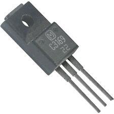 4 Stück 2-SC-3169 C3169 NPN - 500V/2A/25W max. Ft >8MHz Servicealtbestand