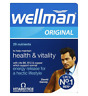 NEW Vitabiotics Wellman Original Multi Vitamin Minerals for Men 30' tablet