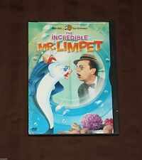 The Incredible Mr. Limpet (DVD, 2002) CLASSIC KIDS CHILRENS DVD