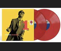 "Stevie Wonder - Number 1's Ones 12"" 2-LP Exclusive Translucent Red Vinyl NEW"