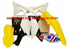 New WRF WR 250 15-16 WRF 450 2016 Racetech Plastic Kit  Enduro Plastics Yellow