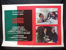 FOTOBUSTA CINEMA - CORRUZIONE AL PALAZZO DI GIUSTIZIA - FRANCO NERO - 1975 - 04
