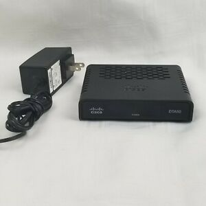 Cisco DTA50 Digital to Analog TV Adapter Box w/ Power Adapter