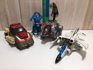 Hasbro 1985,1987 Bandai lot 4 transformers