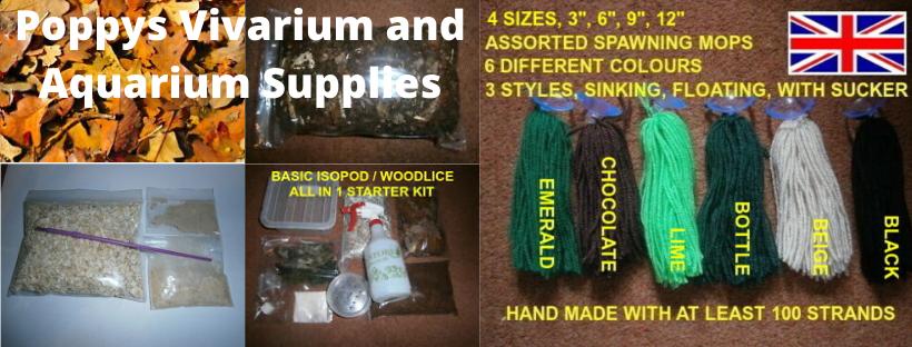 Poppys Vivarium & Aquarium Supplies