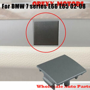 5141702564 Door Panel Cover Plug-Dark Silver for  BMW E65 E66 745i 760i 2002-08