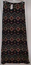 New Long / Maxi Skirt Aztec Design - Green / Beige / Red - Size Medium by rue21