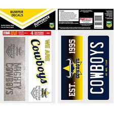 North Queensland Cowboys 2015 PREMIERS Set of 4 UV iTag Bumper Decals / Stickers