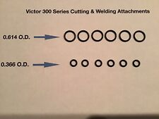 6 Sets Of Victor Cutting Torch Amp Welding Tip O Rings Journeyman Set 300 Handle