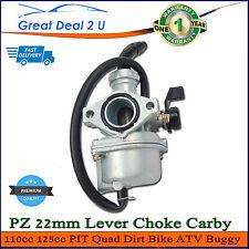 PZ 22mm Lever Choke Carby Carburetor 110cc 125cc PIT Quad Dirt Bike ATV Buggy
