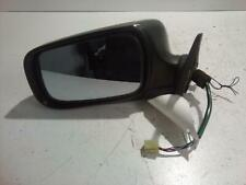 SUBARU FORESTER 2005 LEFT DOOR MIRROR NON TURBO, BLACK, CLIP ON BACKING TYPE, 08