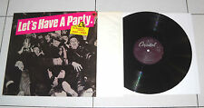 "Lp 33 giri LET'S HAVE A PARTY The Rockabilly 1950-1960 12"" Disco Rock Set 9"