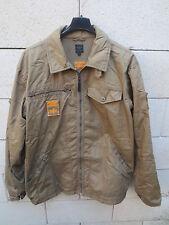 Veste ADIDAS SAFETY marron sportwear clothing taille M coton TRES BON ETAT
