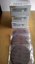 Mirka Abranet Mixed 150 mm Fine Sanding Discs - 5x p600, p800, p1000 Grit.