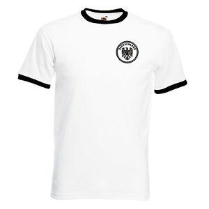 Germany Retro Style German Deutschland Deutsch Football Team T-Shirt- All Sizes