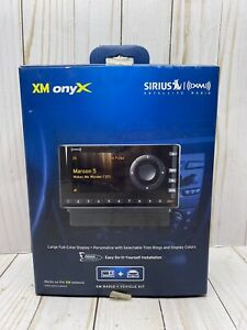 Sirius XM XDNX1V1 Onyx Home Kit and Play Satellite Radio + Car Vehicle Kit NOB