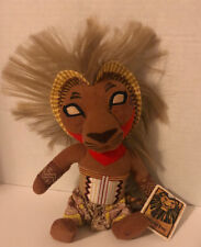 Disney The Lion King Broadway Musical Simba Plush ~New
