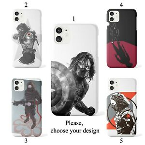 Winter Soldier case for iphone 11 12 XR Pro SE Max X XS 8 plus 7 6 cover SN