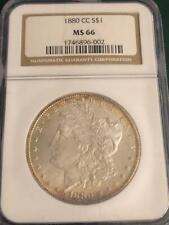 1880 CC $1 Morgan Silver Dollar NGC MS 66