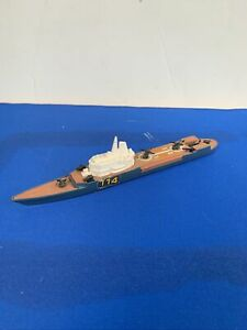 Lesney Matchbox Sea Kings Ship, K-307 Helicopter Carrier, 1976, Made In England