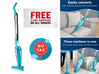 Featherweight Stick Lightweight Bagless Vacuum One Size Fits All Versatile Blue
