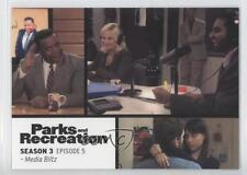 2013 Press Pass Parks and Recreation Seasons 1-4 #35 Media Blitz Card 2a1