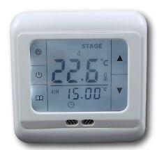 Digital Thermostat mit Touchscreen Raumthermostat Schaltausgang 230V/30A #a29