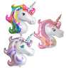 Giant Unicorn Foil Balloon Birthday Party Magical Decoration Girls Rainbow Pink