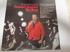 ROBERT GOULET~ON TOUR~TRAVELING ON~LIVE IN CONCERT~Factory Sealed Vinyl LP