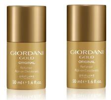 Oriflame Sweden Giordani Gold Perfumed Roll-on Deodorant Women Deo 2 pcs bulk