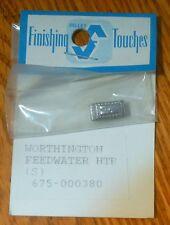 Selley #380 Worthington Feedwater Heater (HO Scale) Light Cast Metal