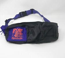 Vintage Reebok Pro Sport Cross Training Bag Fanny Pack Belt Bag Run Purple Black