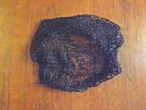 filet à cheveux marron nylon