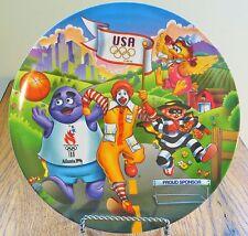 Ronald McDonald Melamine Plate  Sponsor of the 1996 Atlanta Olympics