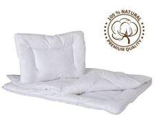 Quilt & Pillow 135x100 Baby Nursery 2 Pcs Cot Bed Bedding Set Anti Allergy Duvet